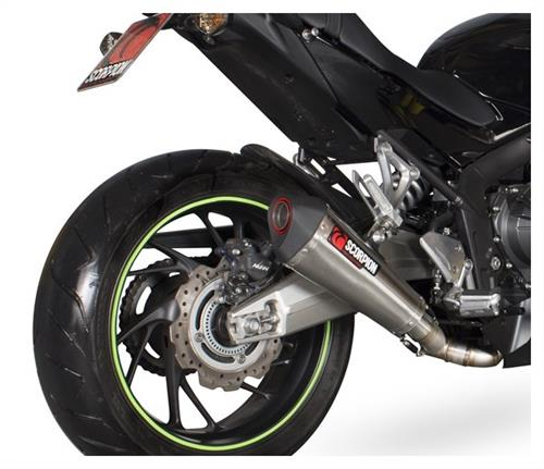 Scorpion Exhaust For Cbr650f Motorcycle Trader News