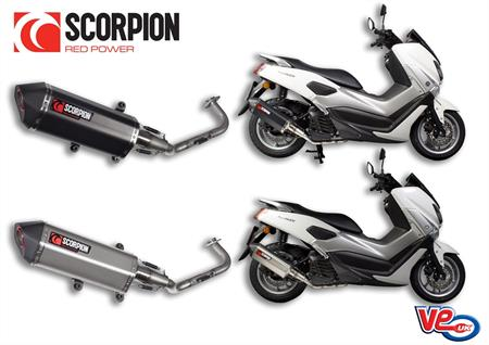 Scorpion Serket Exhaust For Yamaha N Max 125 From Ve Motorcycle